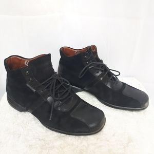 Mephisto Black Lace Up Shoes size 7